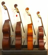 Upright Double Bass, fractional string bass